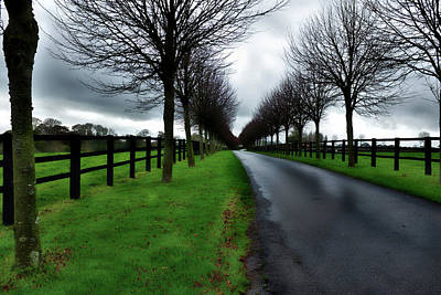 Photograph - Country Road France by Hugh Smith