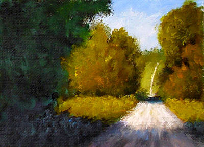 Painting - Country Road by Fred Wilson