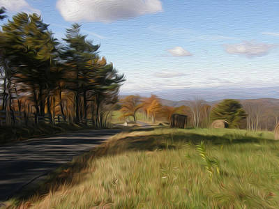 Photograph - Country Road by Jewels Blake Hamrick