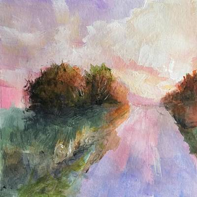 Painting - Country Road by Michele Carter