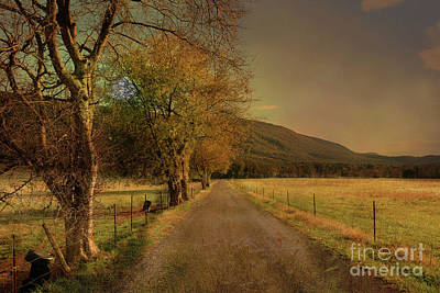 Photograph - Country Road Take Me Home by Rick Lipscomb