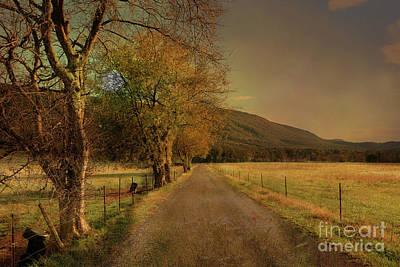 Country Road Take Me Home Art Print