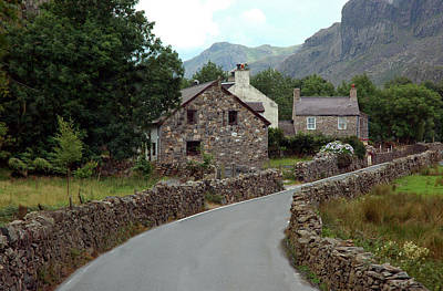 Photograph - Country Roads In Wales by Dianne Levy