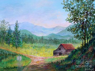Painting - Country Roads by Lou Ann Bagnall