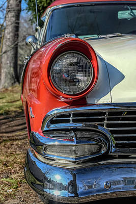 Photograph - Country Sedan In The Country by Guy Whiteley