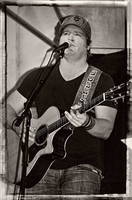 Photograph - Country Sensation Jerrod Neimann by Mike Martin