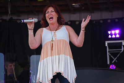 Photograph - Country Sensation Jo Dee Messina by Mike Martin