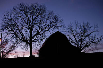 Photograph - Country Shadows - Barn Photography by Gregory Ballos