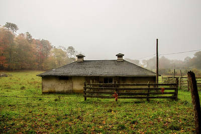 Shed Digital Art - Country Shed by Terry Davis