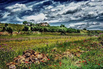 Photograph - Country Side Sicily by Patrick Boening