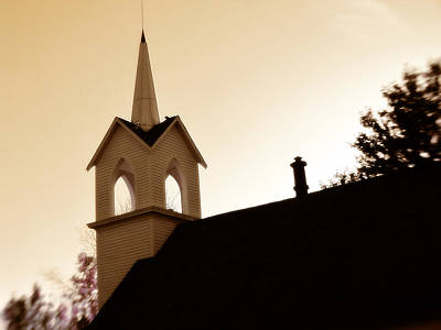 Photograph - Country Steeple by Scott Hovind
