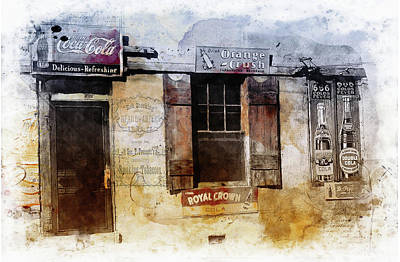 Photograph - Country Store by Nancie Rowan
