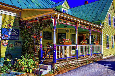 Photograph - Country Store Porch by Rick Bragan