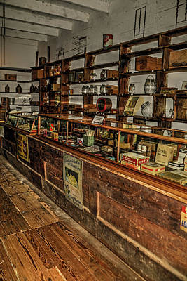 Photograph - Country Store by Ronald Olivier