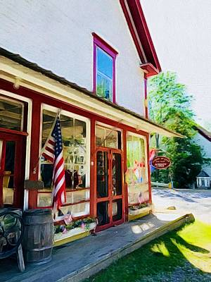 Painting - Country Store  by Lisa Gilliam