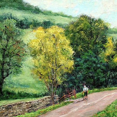 Painting - Country Stroll by Jill Musser