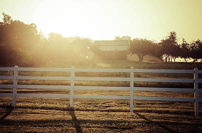 Photograph - Country Sunrise Over Farm by Dan Sproul
