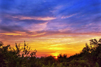 Photograph - Country Sunset by Christina Rollo