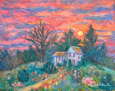 Painting - Country Sunset by Kendall Kessler