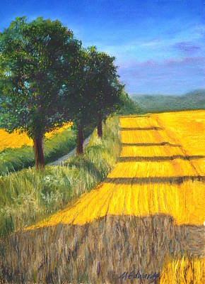 Painting - Country Sunset by Marna Edwards Flavell
