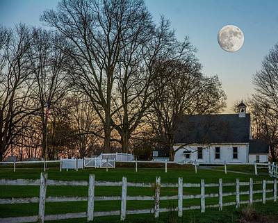 Photograph - Country Super Moon by Randall Branham