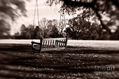 South Louisiana Photograph - Country Swing by Scott Pellegrin