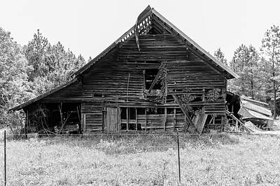 Photograph - Country Treasure Bw by Newman Artography
