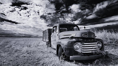 Ford Truck Photograph - Country Truck by Ian MacDonald