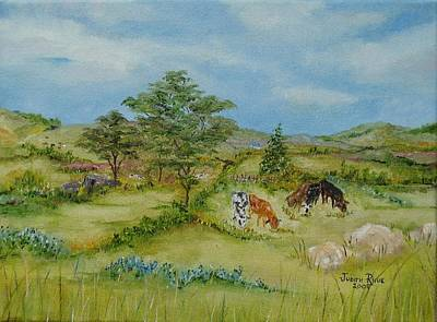 Painting - Country View by Judith Rhue