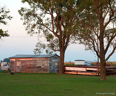 Photograph - Country Vignette by Paulette B Wright