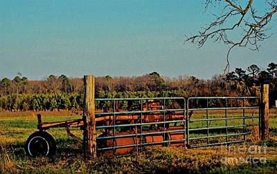 Photograph - Country Watercolor by Paulette Thomas