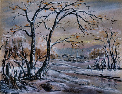 Pastel - Country Winter by Natalie Holland