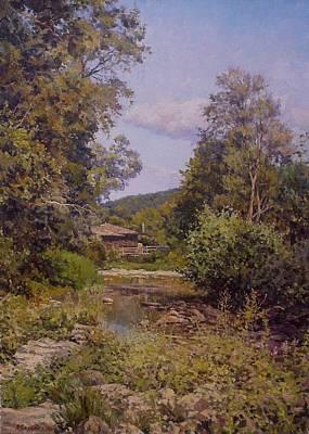Countryhouse. Bulgaria Art Print