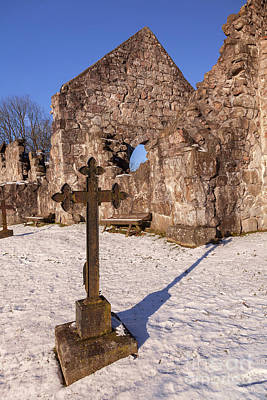 Photograph - Countryside Chapel Ruin by Sophie McAulay