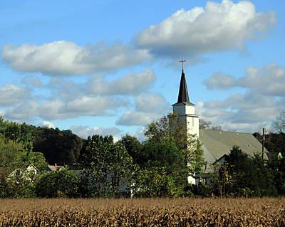 Photograph - Countryside Church by Angela Murdock
