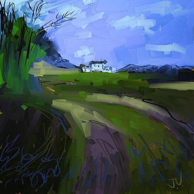 Digital Art - Countryside Landscape I by Jim Vance