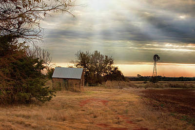 Photograph - Countryside Morning by Lana Trussell