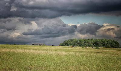 Countryside Storms Art Print