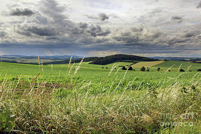 Photograph - Countryside With Rainy Clouds by Michal Boubin