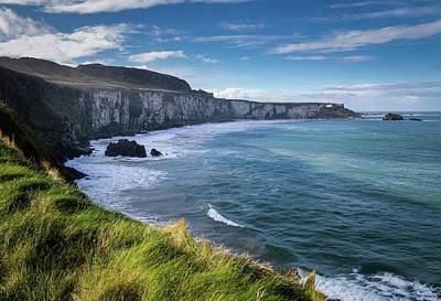 Photograph - County Antrim Coastline by George Pennock