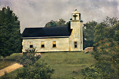 County Chruch Art Print