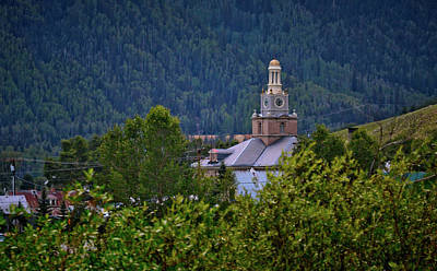 Photograph - County Courthouse In Silverton by Linda Unger
