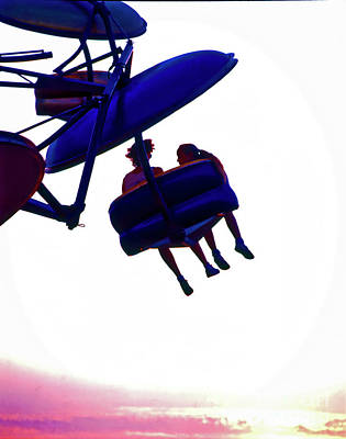 Photograph - County Fair Amusement Ride 0401200015 by Tom Jelen