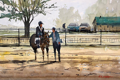 Painting - County Fair Memories by Ryan Radke