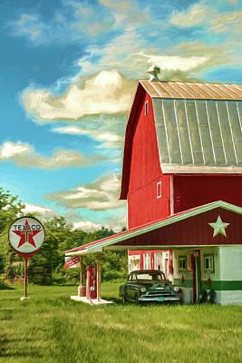 County G Classic Station Art Print
