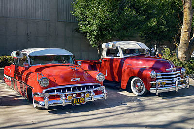 Photograph - Coupala Chevys by Bill Dutting