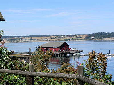 Photograph - Coupeville Wharf II by Mary Gaines