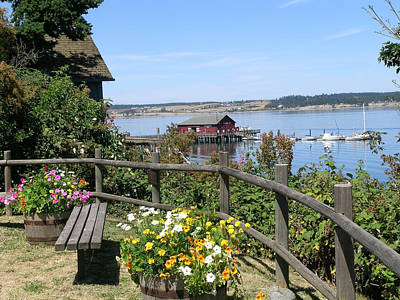 Photograph - Coupeville Wharf by Mary Gaines