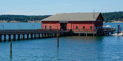 Photograph - Coupeville Wharf by Shanna Hyatt