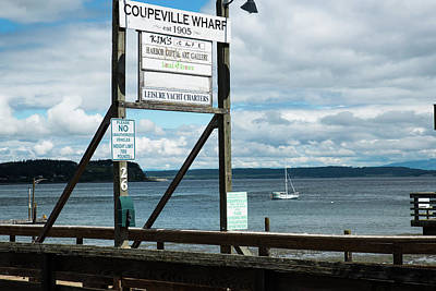 Photograph - Coupeville Wharf by Tom Cochran